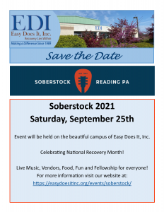 Save The Date for Soberstock 2021!